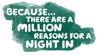 Have a night in with Macmillan (UK only)