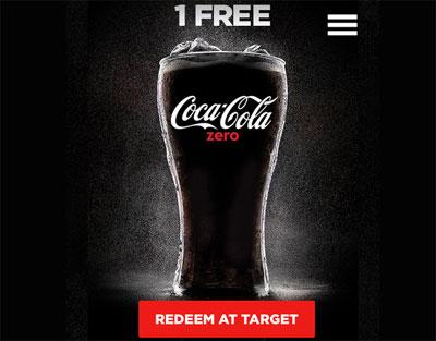 FREE 20oz Coke Zero At Target (US)