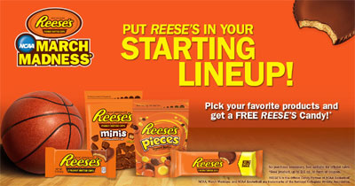 Free Reese's Chocolate Product Coupon (US)