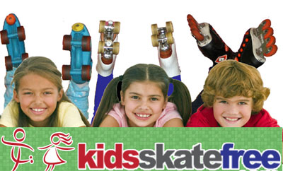 Free Roller Skating For Kids All Summer (US only)