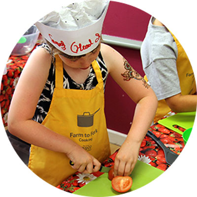 Sign in and get your children a free cooking course
