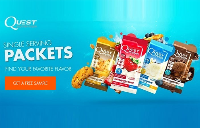 Free protein shake samples / Raw meal replacement shakes