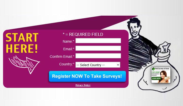 Paid Surveys at Home (US/International)