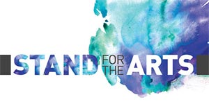 FREE I Stand For The Arts Sticker (US only)