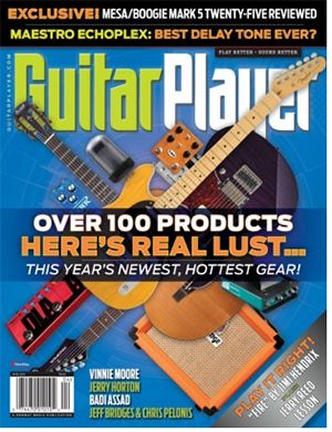 FREE Subscription to Guitar Player Magazine (US only)
