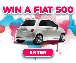 Enter to win a Fiat 500! (UK only)