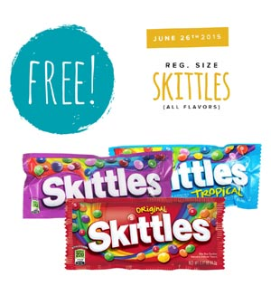 Free Bag Of Skittles From Tedeschi Food Shops (US only)