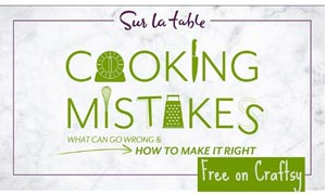 Free Cooking Mistakes Class at Craftsy (US only)