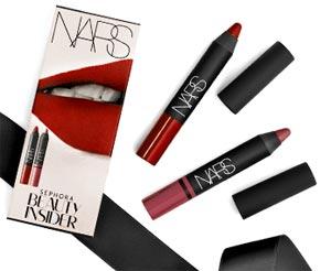 2015 Sephora Birthday Gift: Free NARS Lip Pencils (US & Canada only)