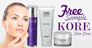 Free Sample of Kore Skincare (UK only)