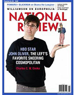Free Subscription to National Review Magazine (US only)