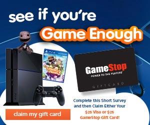 SurveySampleSavings – PlayStation 4 (US only)