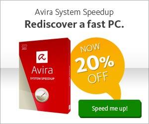 Avira System Speedup – Sale