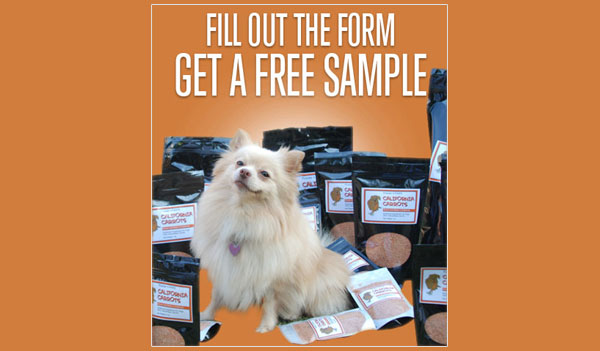 FREE California Carrots Supplement For Dogs