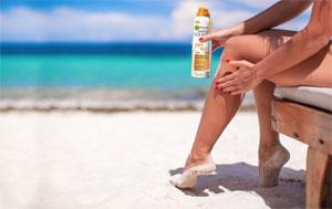 FREE Garnier Ambre Solaire Dry Mist Sun Cream (UK only)