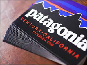 FREE Patagonia Sticker (US & CAN only)