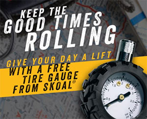 FREE Tire Gauge from Skoal (US only)