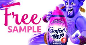 FREE Sample of Comfort Intense Detergent (UK only)
