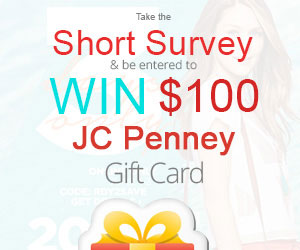 Win a $100 JCPenny Gift Card! (US only)