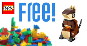 Free LEGO Kangaroo Mini Model Building Event (US only)
