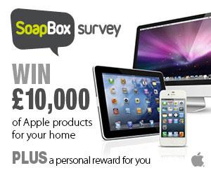 SoapBox Survey – Apple MacBook (UK only)