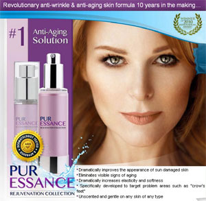 Free anti-aging Skin Formula From PurEssance (US only)
