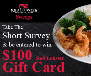 Win a $100 Red Lobster Gift Card! (US only)