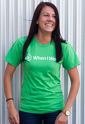 Free T-Shirt from WhenIWork.com (US only)