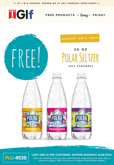 Polar seltzer coupons