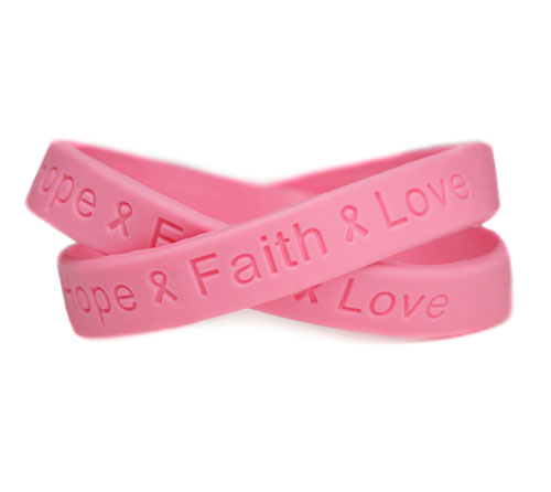 FREE Breast Cancer Awareness Wristband! (US only)