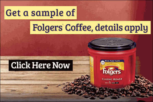 Folgers Coffee (US only)