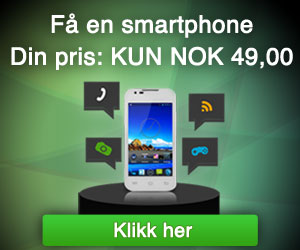 Forbrugerpost – Smartphone (Norway only)