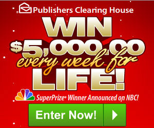 PCH Sweepstakes (US only)