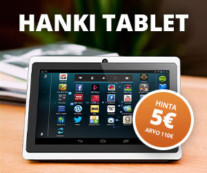 Pointworld Tablet (Finland only)