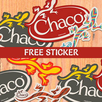 FREE Chaco Stickers (US only)