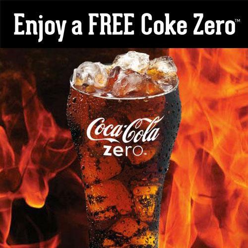 FREE Coke Zero At El Pollo Loco (US only)