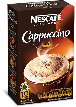 FREE Sample of Nescafe Cappuccino (AU & NZ only)