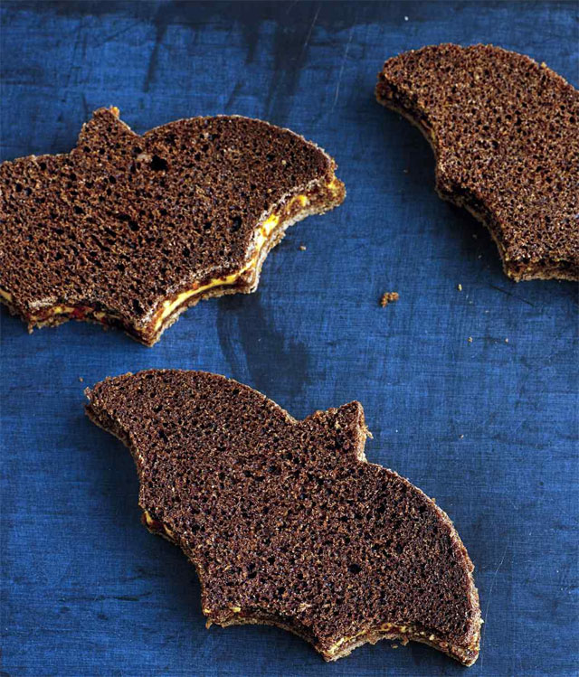 Cheese-and-Pumpernickel-Sandwiches