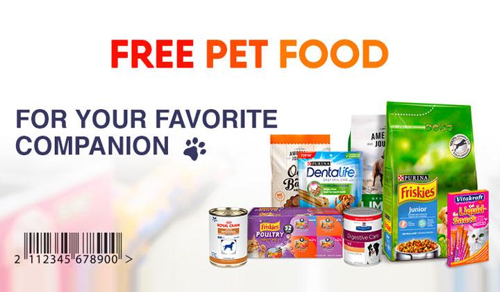 FREE Pet Food Samples!