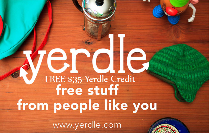 FREE $35 Yerdle Credit + FREE Shipping! (US only)
