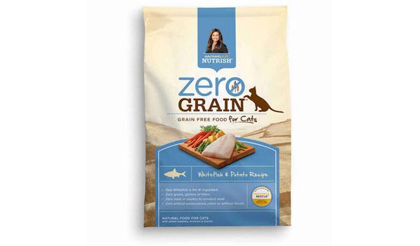FREE Nutrish Zero Grain Whitefish & Potato Recipe Cat Food Sample (US)