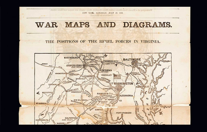 FREE Mapping It Out Civil War poster for teachers (US only)