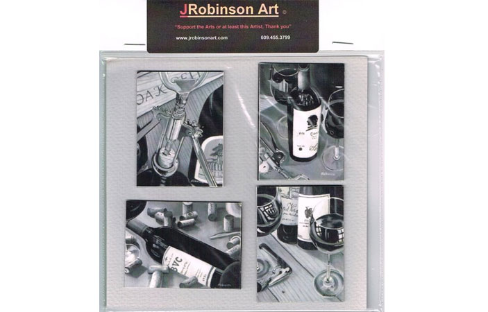 FREE Refrigerator Magnet from JRobinson Art (US only)