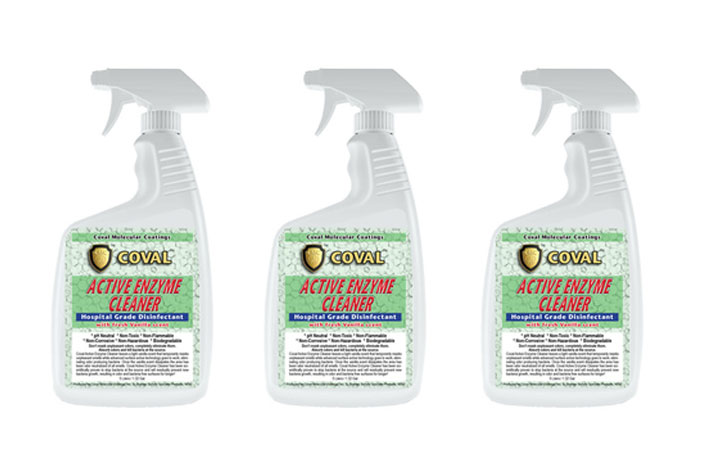 free rugged coatings coval active enzyme cleaner or coval multi purpose sealer sample us only