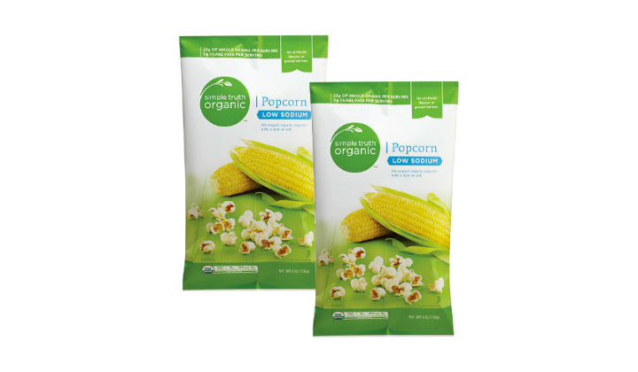 FREE Simple Truth Popcorn at Kroger & Affiliate Stores
