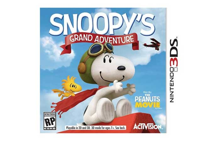 Snoopy's Grand Adventure For Nintendo 3DS – $10 – Target (US only)