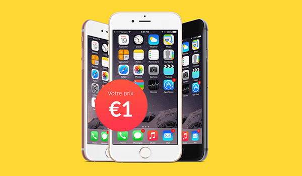 WIN an iPhone 6S and Get a Free MP3 Player (FR)