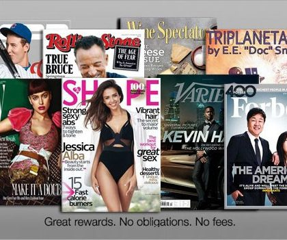 FREE Magazine Subscription – Reward Survey (US)