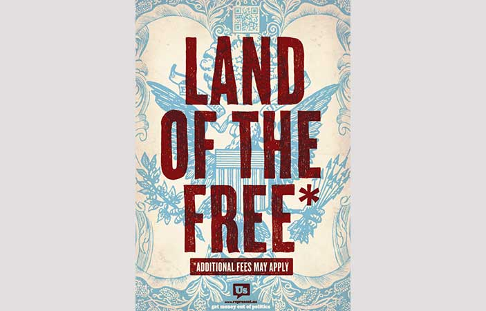 FREE Land of the Free Posters for July 4th (US only)