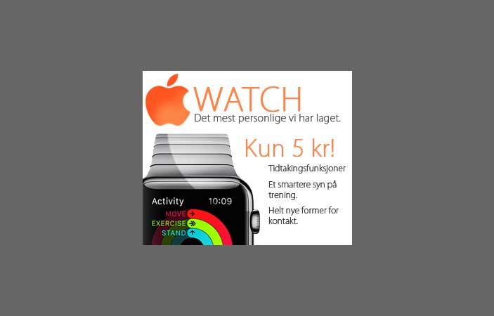 Apple Watch (NO only)